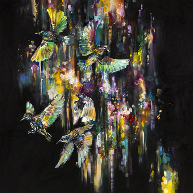 Arcus Flight - Art Print By Katy Jade Dobson