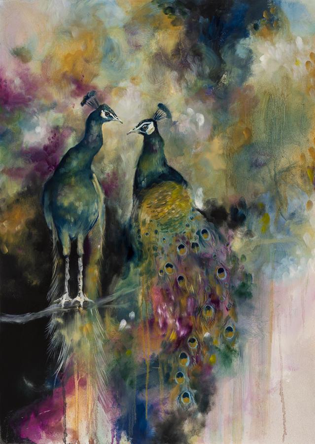 Divine Framed art print by artist Katy Jade Dobson