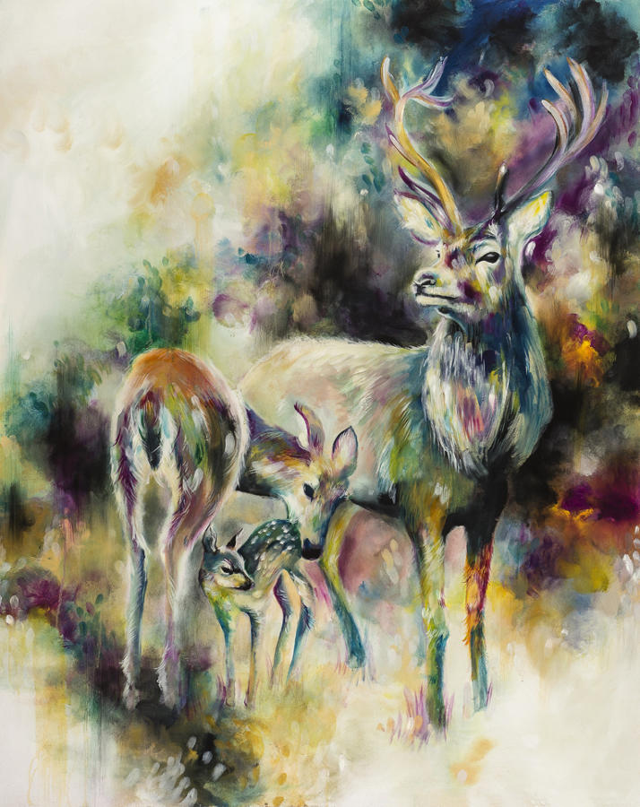 Eminence Framed art print by artist Katy Jade Dobson
