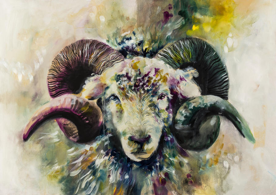 Ego framed art print by artist Katy Jade Dobson
