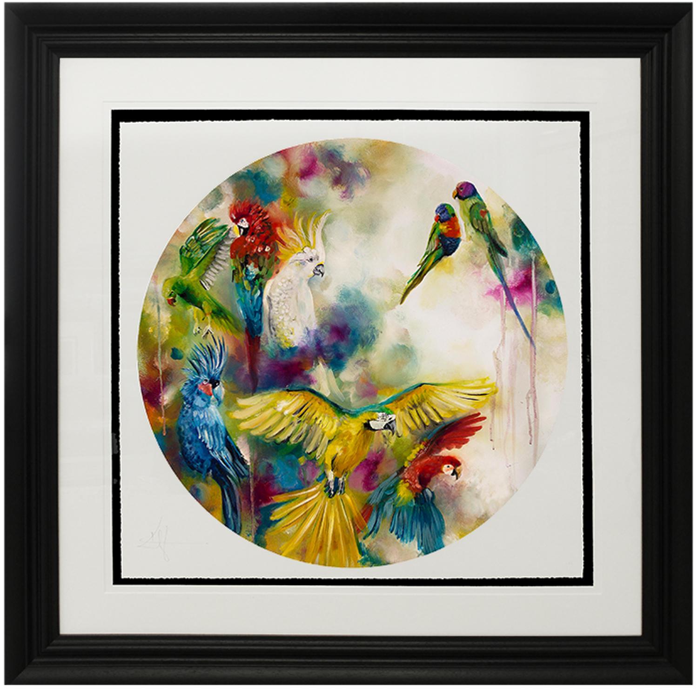 Pretty Polly (Parrotts & Parakeets) by Katy Jade Dobson