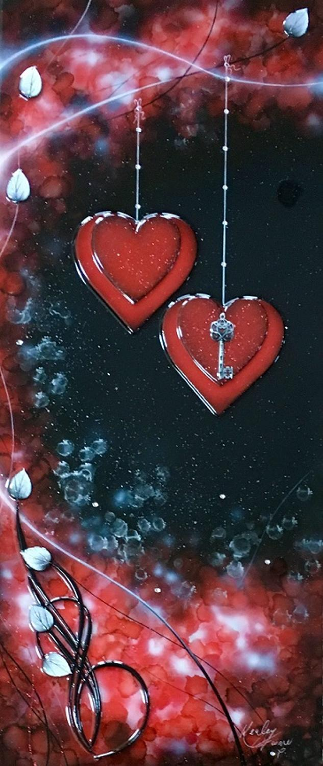 Love Is The Key Red by Kealey Farmer