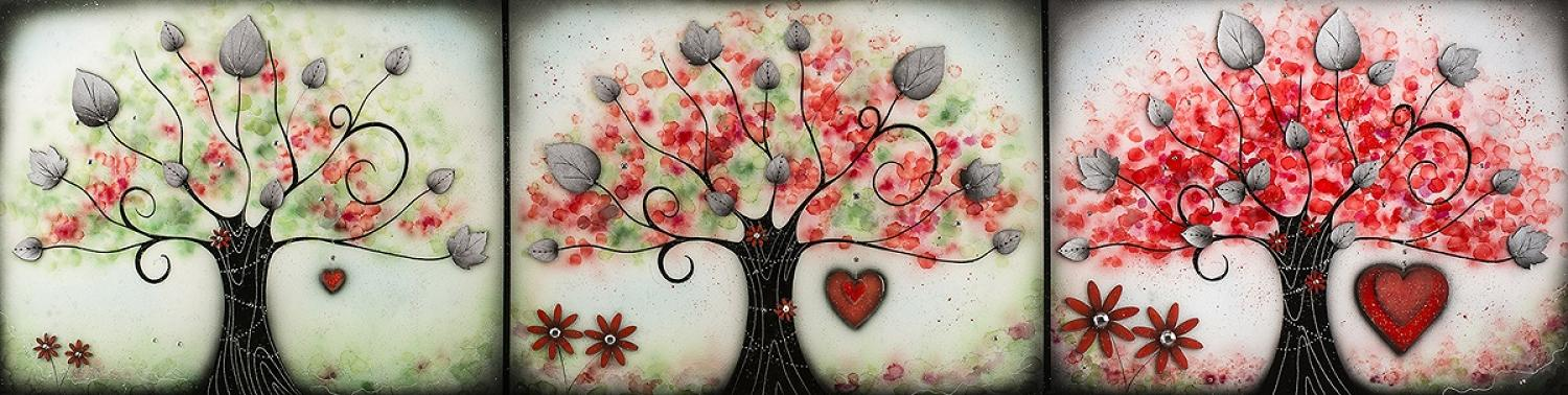 Love Blossoms Framed Art Print By Kealey Farmer