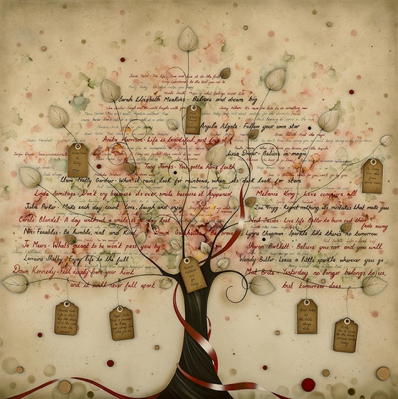 Tree Of Positivity framed art print by Kealey Farmer