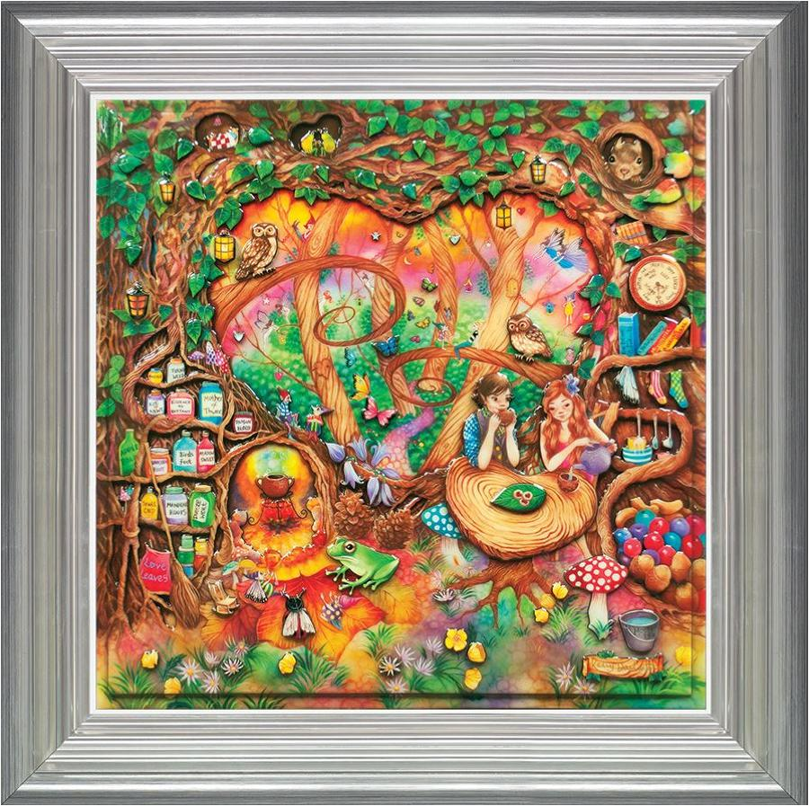 The Elixir of Love Framed Art Print Kerry Darlington