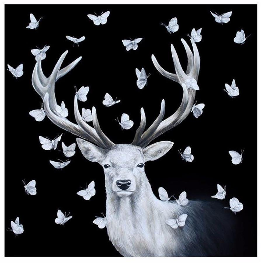 Stay True Art Print by Louise McNaught