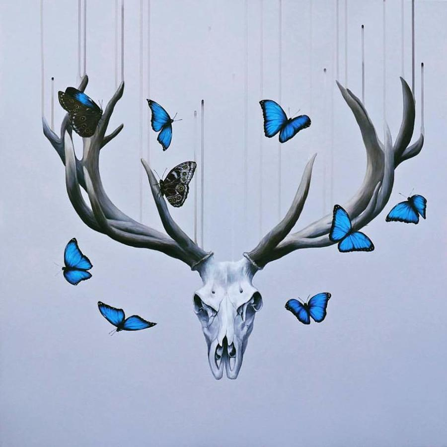 Born to Die Art Print by Louise McNaught