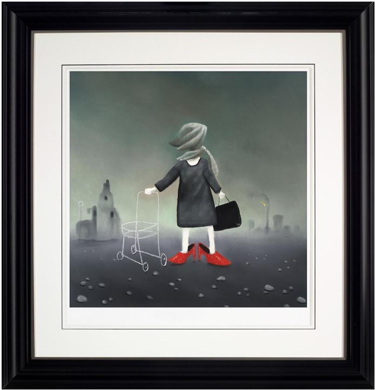 Sunday best framed art print by Mackenzie Thorpe