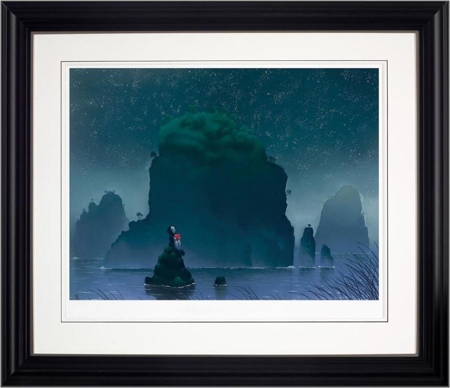 Your My Rock framed art print by Mackenzie Thorpe