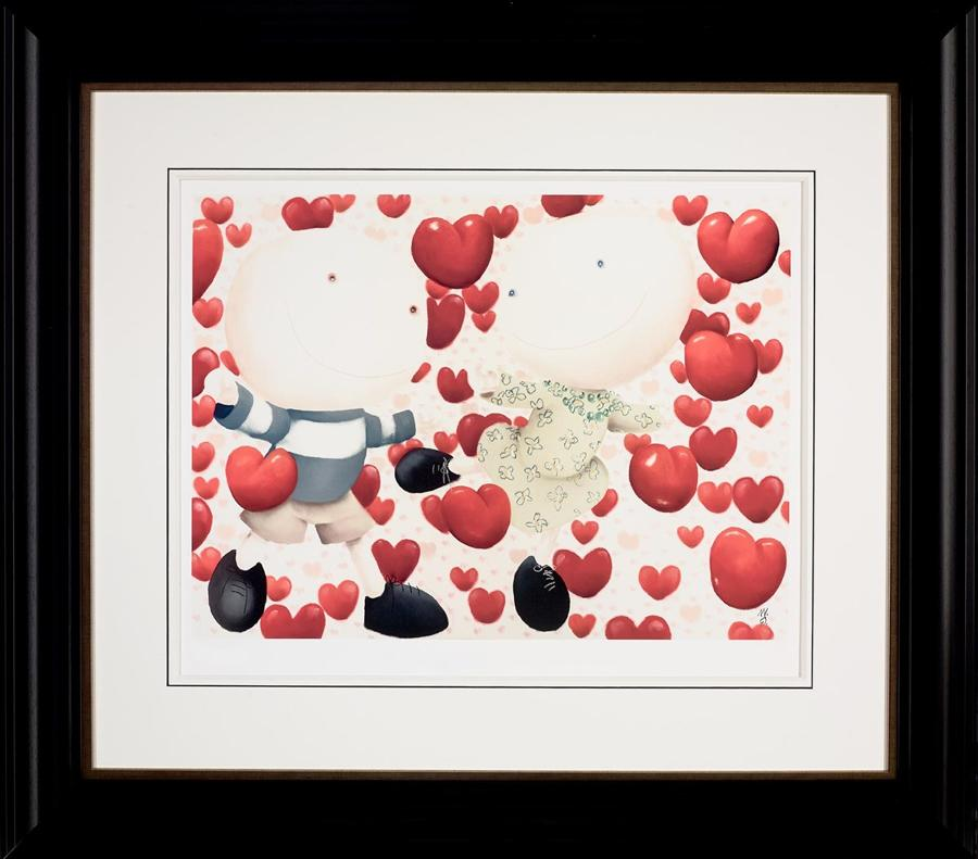 Dancing In Love framed art print by Mackenzie Thorpe
