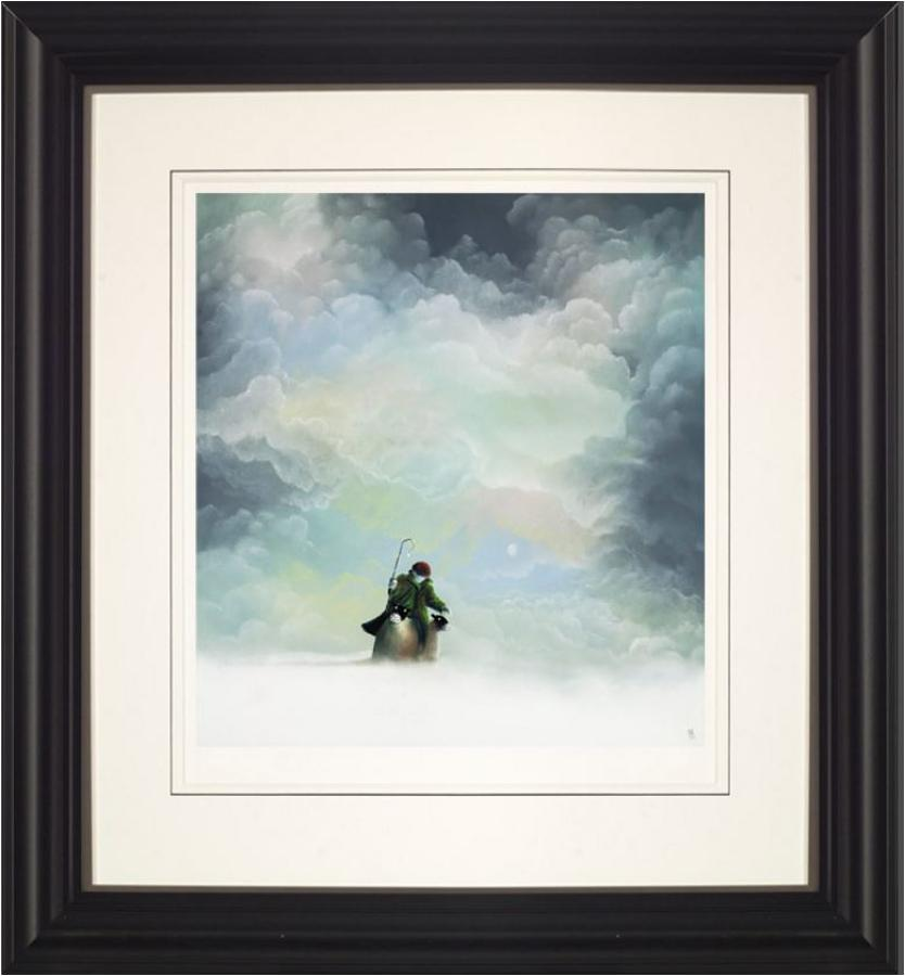 Morning Snow Framed Art Print by Mackenzie Thorpe
