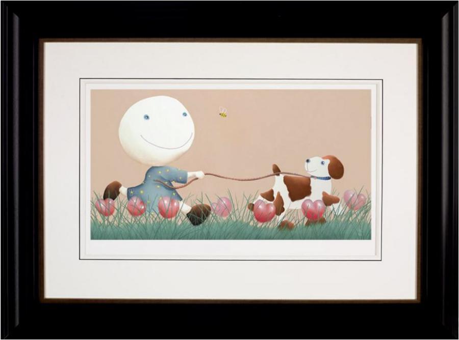 It's only A Bee Framed Art Print by Mackenzie Thorpe