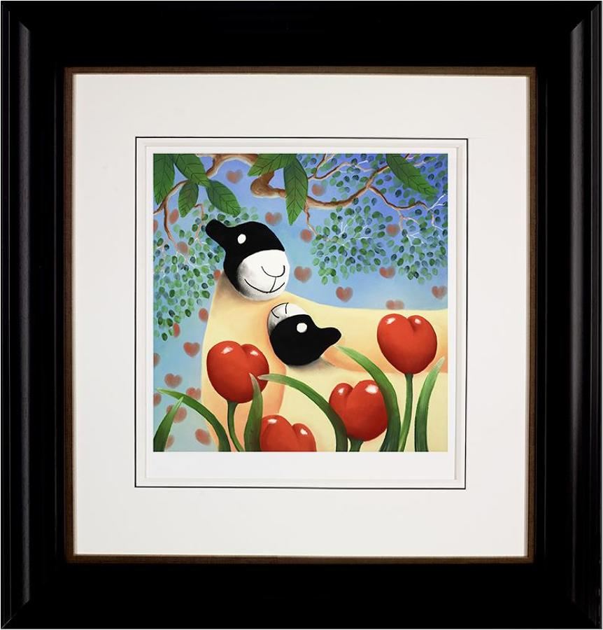 I Love You Too Framed Art Print Mackenzie Thorpe