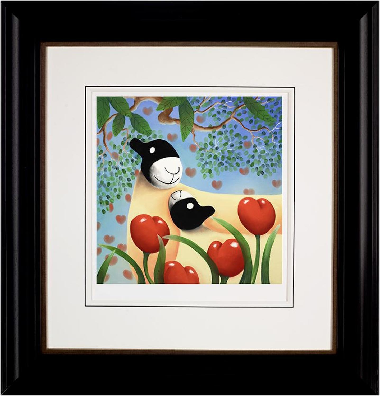 I Love You Too Framed Art Print Mackenzie Thorpe