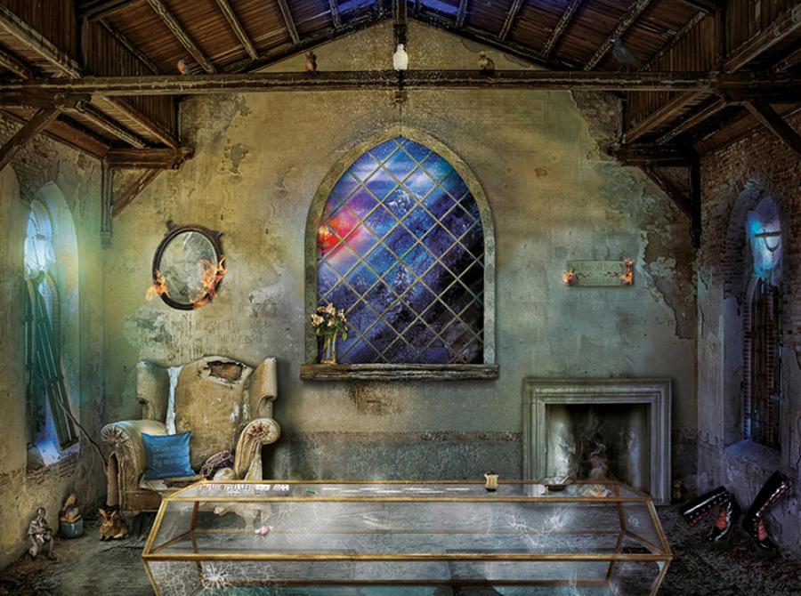 Hi Ho ( Snow White) Framed art print artist Mark Davies