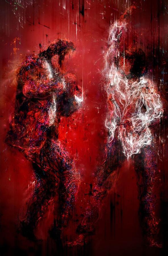 Mark Davies I Wanna Dance (Pulp Fiction) Framed Art Print