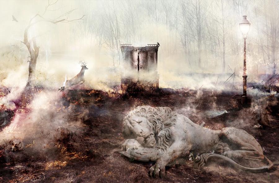 Mark Davies For Now I'm Winter Framed Art Print