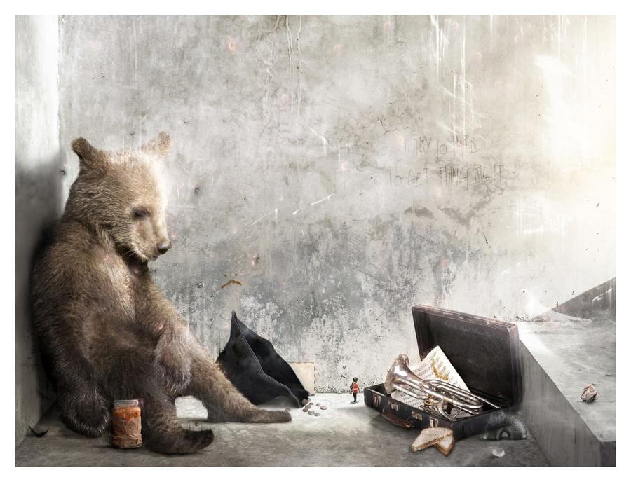 """""""A Letter To Aunt Lucy""""-Paddington Bear- by Mark Davies"""