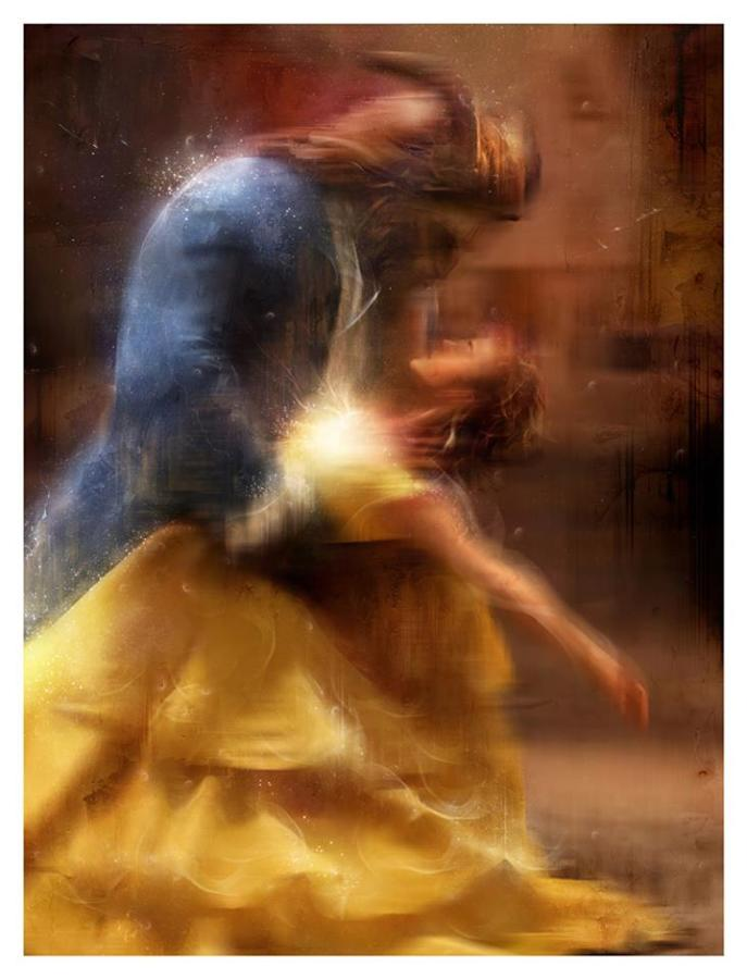 """""""We Are Together Now"""" Beauty & The Beast by Mark Davies"""