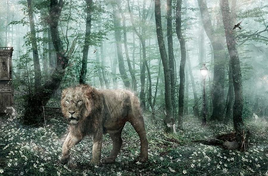"Deliver Us From Evil"" -Aslan Narnia- by Mark Davies"