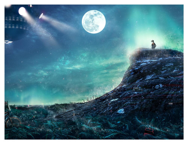 """""""I Never Left"""" - ET - by Mark Davies"""
