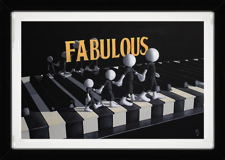Fabulous Framed Art Print by Mark Grieves
