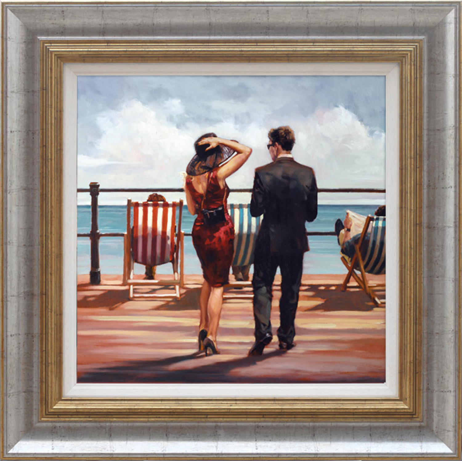 Treading The Boards Framed Art Print By Mark SPain