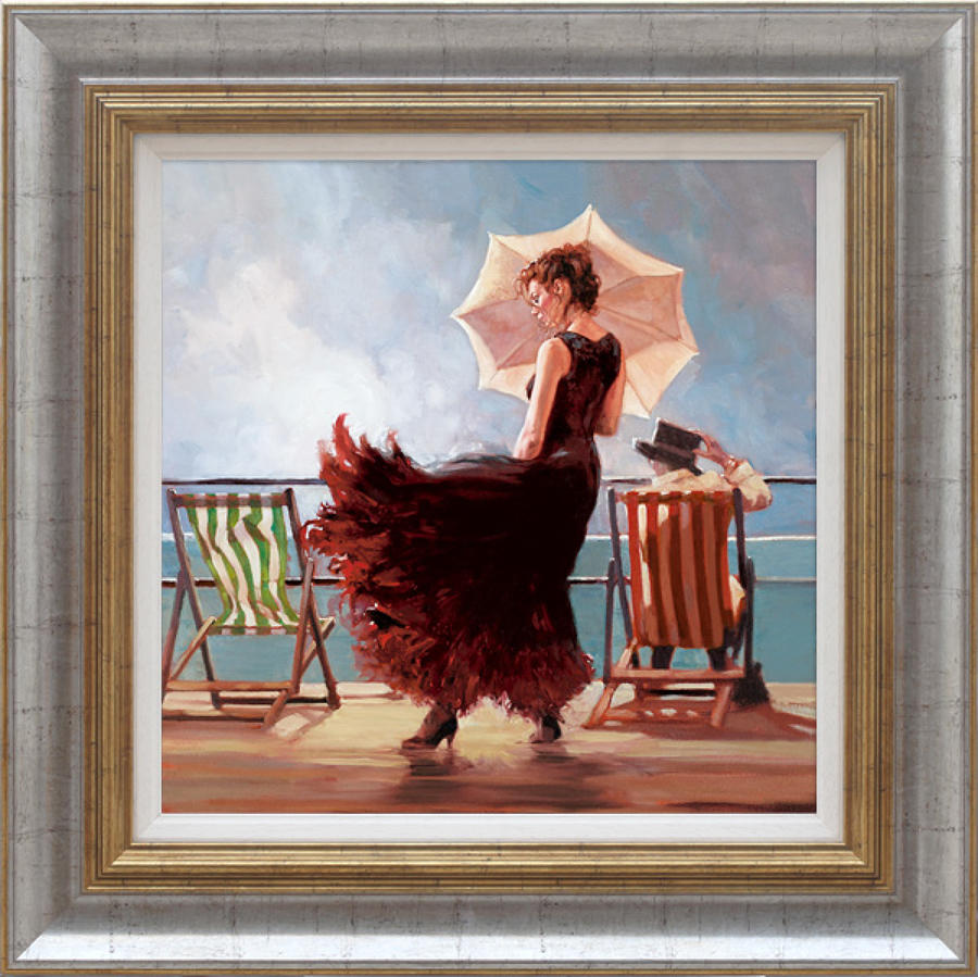 Dancing On The Deck Framed Art Print By Mark SPain