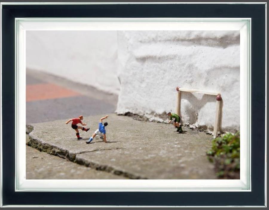 Match Of The Day (Dye Sublimation) By Mr Kuu Framed Art Print