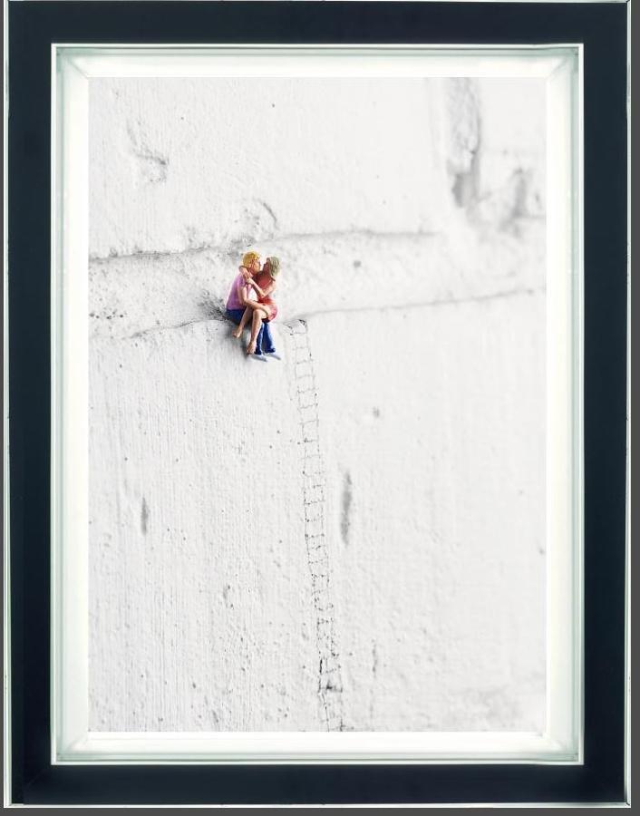 High On Love (Dye Sublimation) Framed Art Print By Mr Kuu