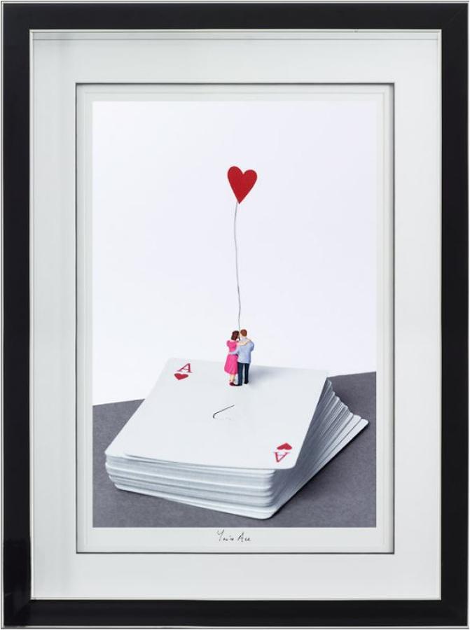 You're Ace framed art print by artist Mr Kuu