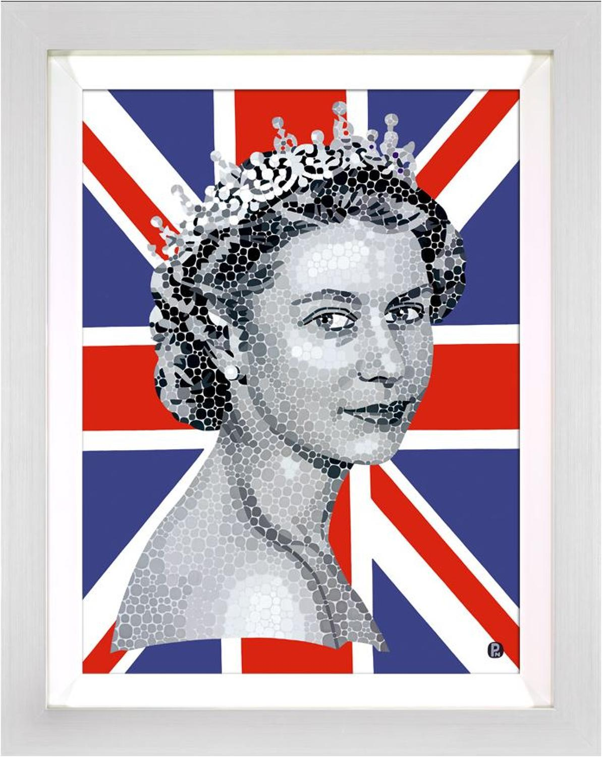 Happy And Glorious framed art print by artist Paul Normansell