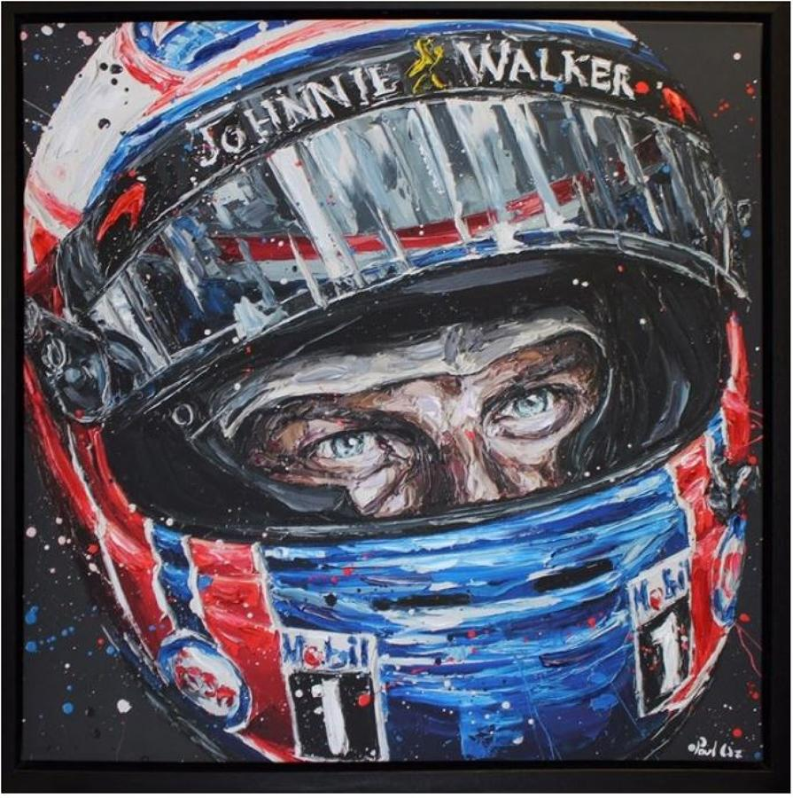 Jenson 2016 Framed Art Print by Paul Oz