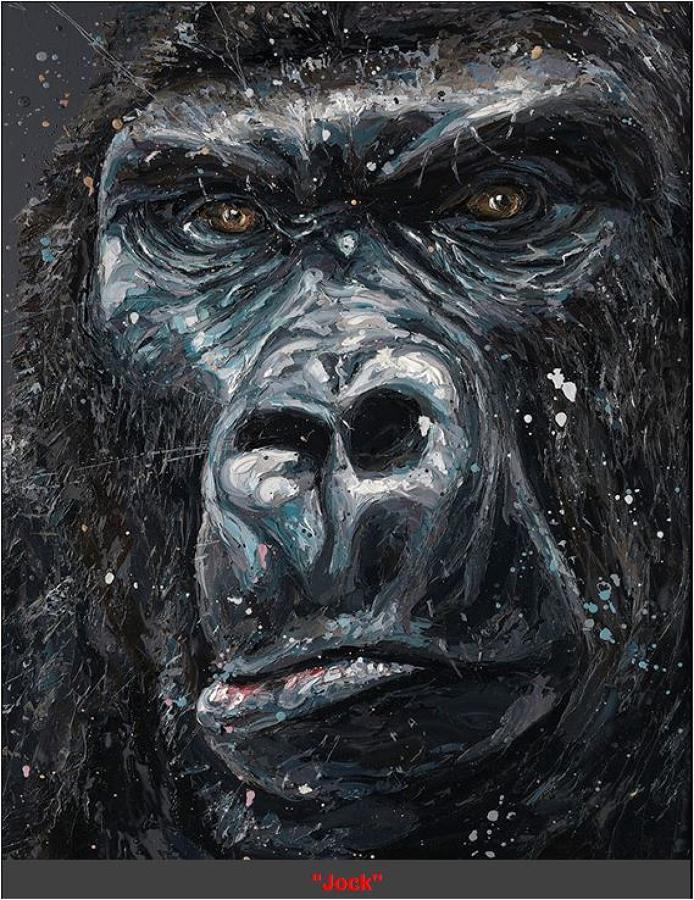 Paul Oz - Jock Framed Art Print