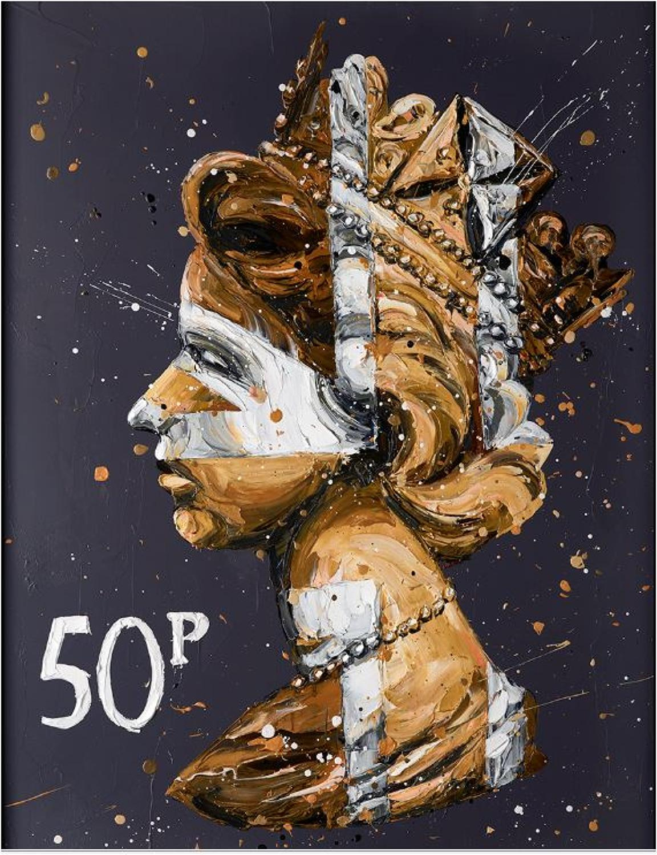 50K Queen Framed Art Print Paul Oz