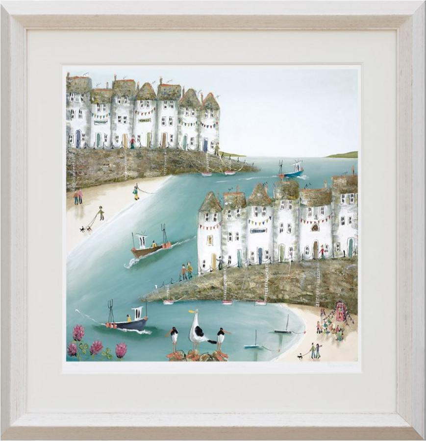 That's the Way Framed Paper Art Print Rebecca Lardner Framed