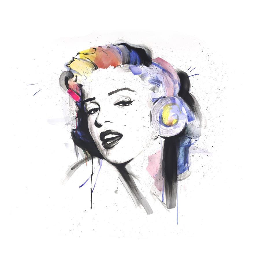 Marilyn Art Print by Richard Berner- Large Size