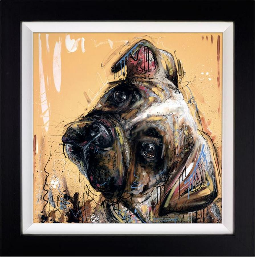All Ears by Samantha Ellis Framed Art Print