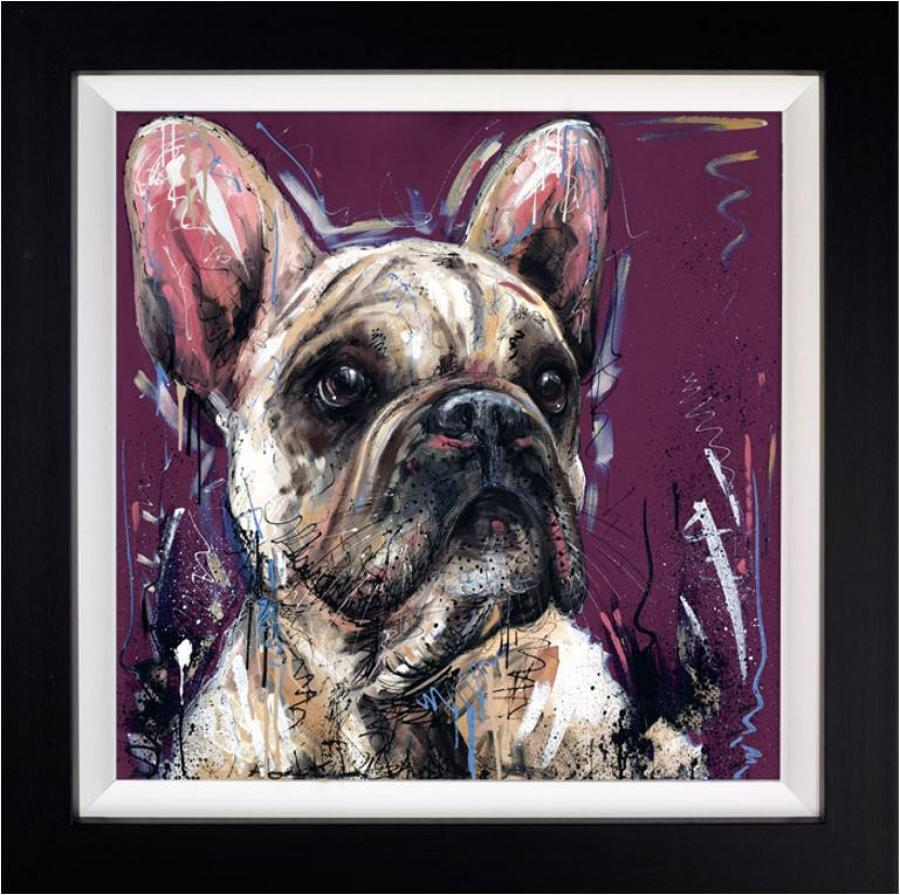 Posh Pooch by Samantha Ellis Framed Art Print