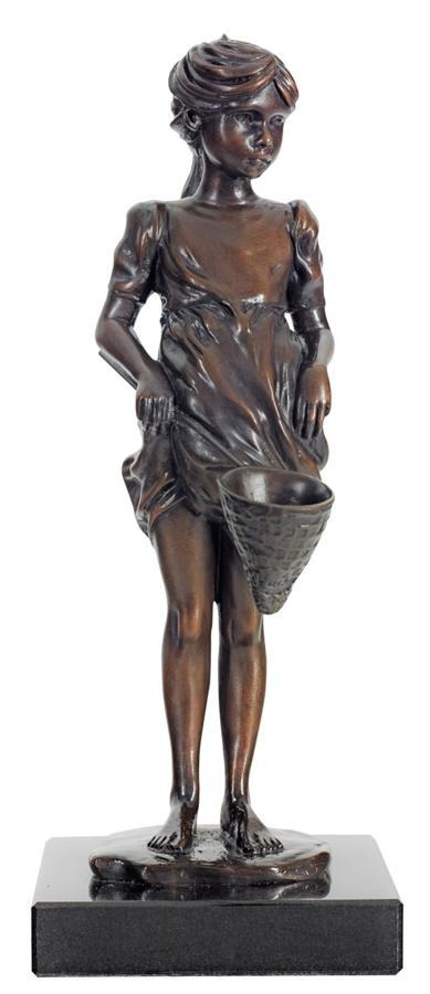 Out To Play Bronze Sculpture by Sheree Valentine Daines