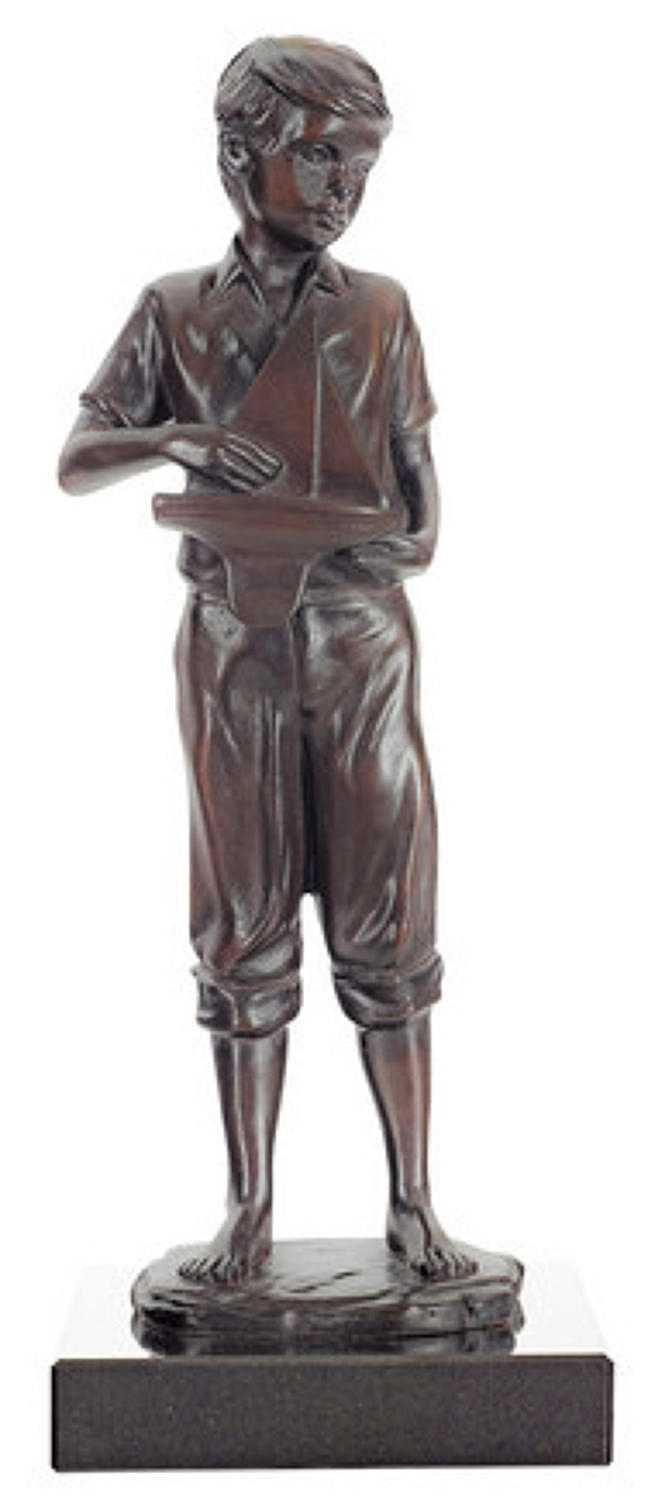 Childhood Dreams -Bronze-Sculpture by Sheree Valentine Daines