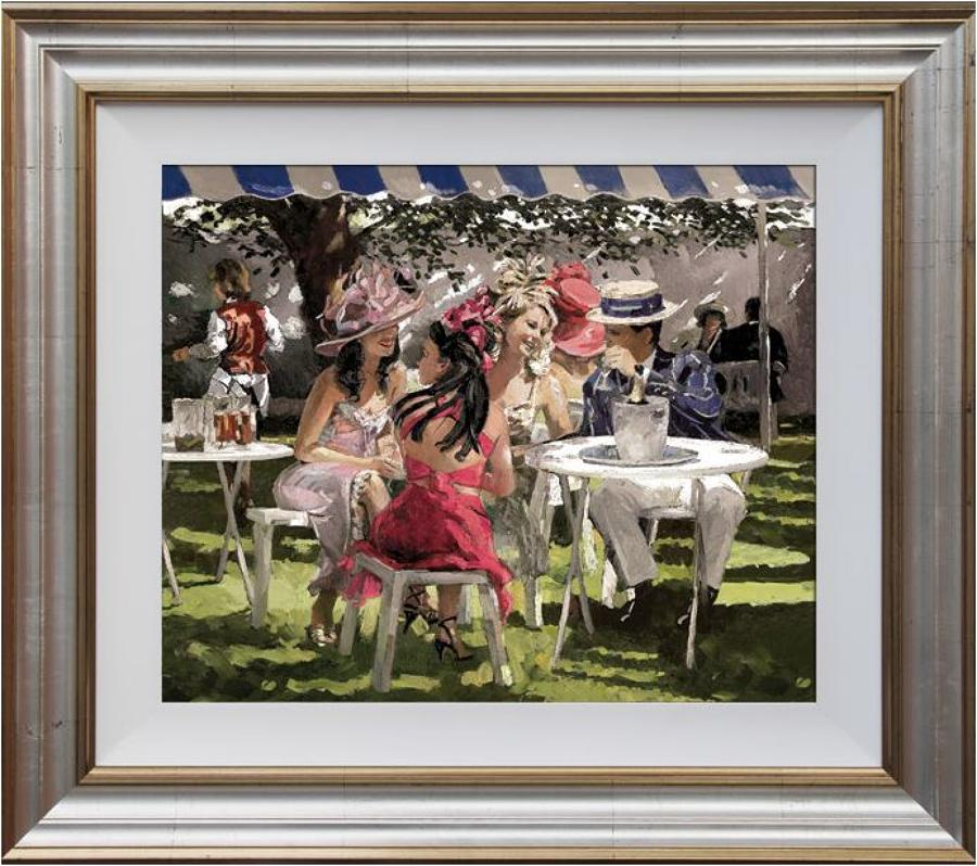 The Social Season framed art print by artist Sheree Valentine Daines