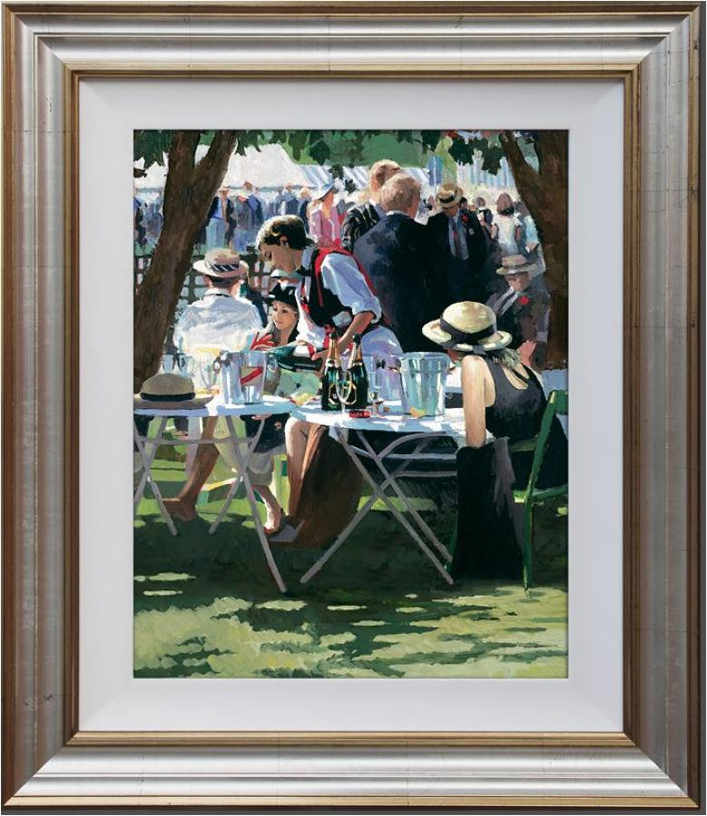 Shared Memories ll framed art print by artist Sheree Valentine Daines