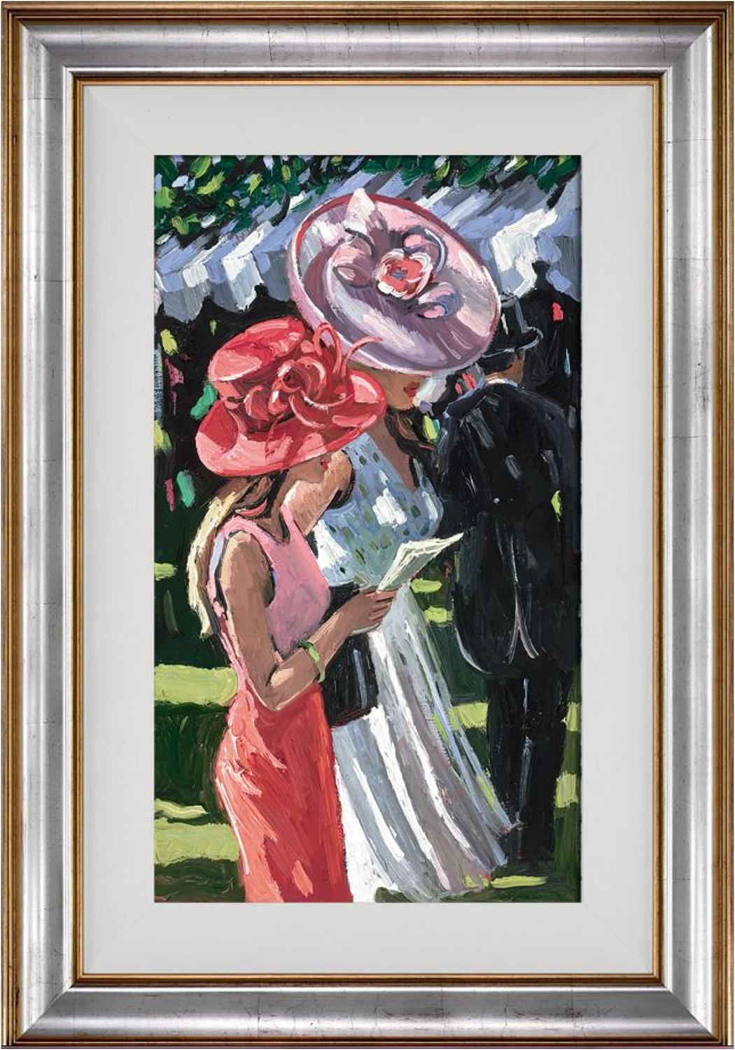 Society Ladies Framed Art Print Sheree Valentine Daines
