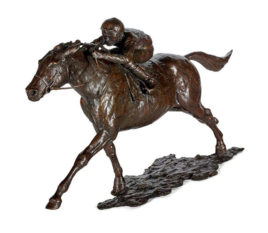 Ascot Racing Bronze Sculpture by Sherree Valentine Daines