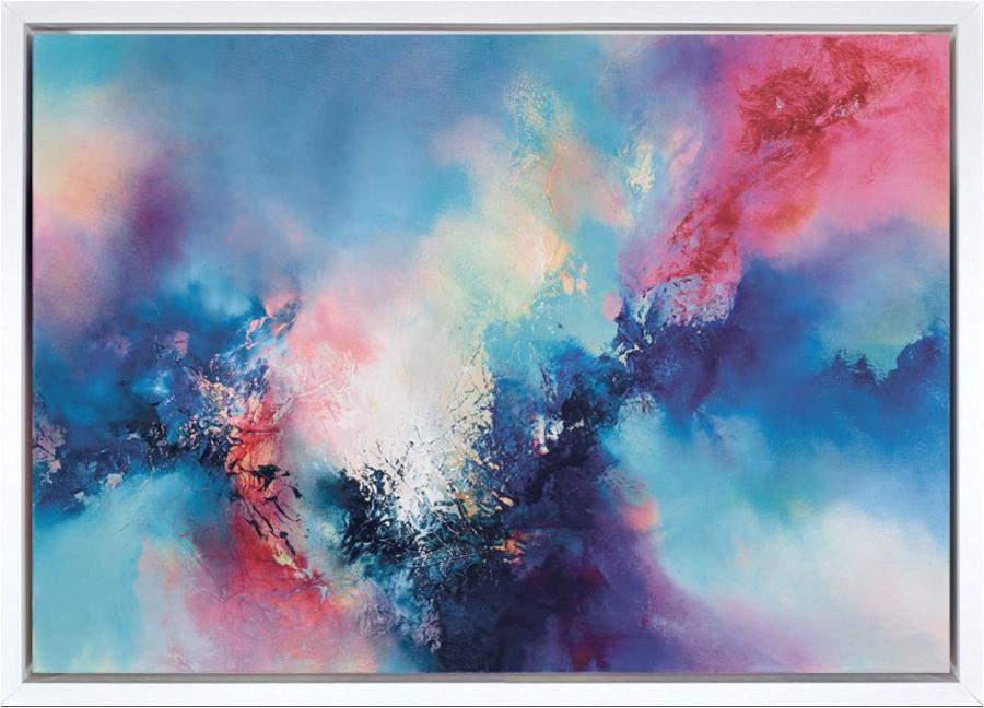 Simon Kenny In The Far Away Framed Box Canvas