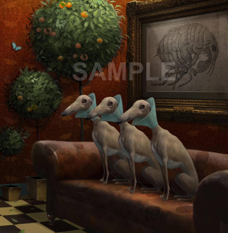 The Waiting Room-Art Print By Stephen Hanson