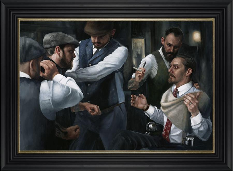The Betrayal by Vincent Kamp- Framed Art Print