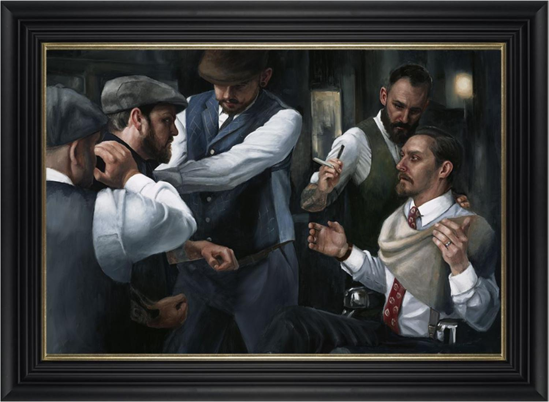 The Betrayal by Vincent Kamp- Framed Art Print