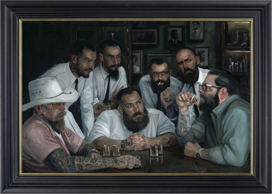 Settling Old Rivalries by Vincent Kamp- Framed
